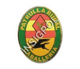 PLACA INSIGNIA GUARDIA CIVIL PATRULLA RURAL CABALLERIA