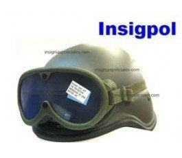 CASCO AIRSOFT VERDE + GAFAS MARINES