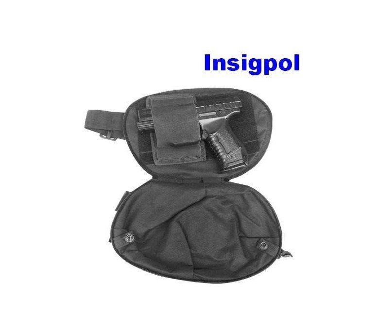 INSIGPOL  WAIST BAG 5 COMPARTMENTS
