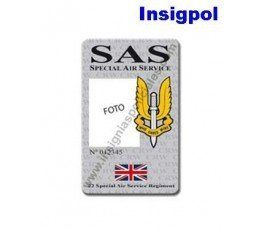 SAS CUSTOM ID CARD