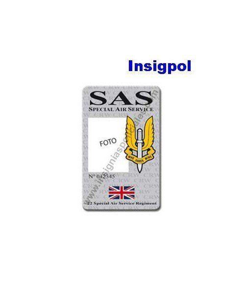 SAS CUSTOM ID CARD