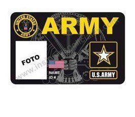 US ARMY CUSTOM ID CARD