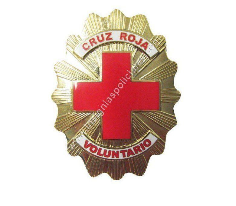 placa cruz roja