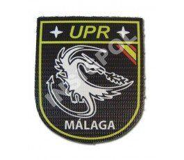 SPANISH NATIONAL POLICE UPR MALAGA CAVALRY PATCH