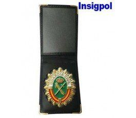 Placa Guardia Civil con cartera