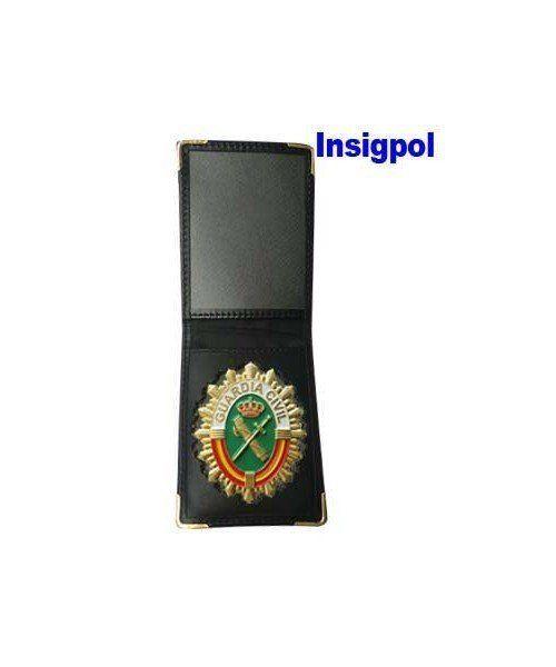 Placa Guardia Civil con cartera