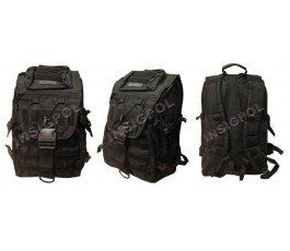 ATACK II LINE FORCE BARBARIC BLACK BACKPACK.
