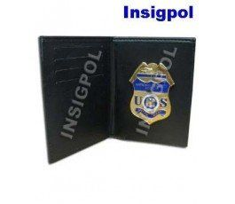NSA BADGE & WALLET BOOK STYLE