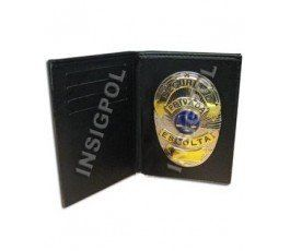 INTERNATIONAL BODYGUARD BADGE & WALLET BOOK STYLE