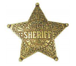 INSIGNIA SHERIFF 5 PUNTAS