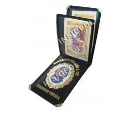 SPANISH PRIVATE  DIRECTOR SECURITY BADGE  WALLET
