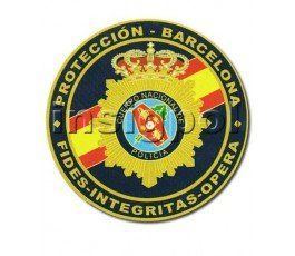 SPANISH NATIONAL POLICE BARCELONA BODYGUARD PATCH