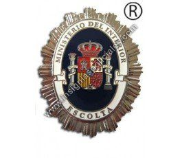 SPANISH BODYGUARD SILVER BADGE