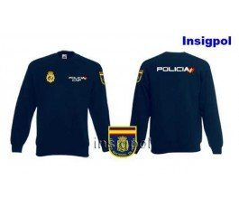 SPANISH NATIONAL POLICE SWEATSHIRT