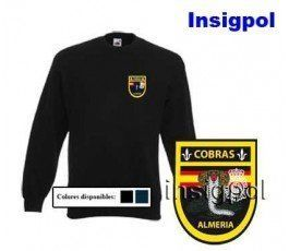 SPANISH NATIONAL POLICE COBRAS ALMERIA SWEATSHIRT