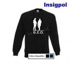 NATIONAL POLICE SILHOUETTE TWO GEOS SWEATSHIRT
