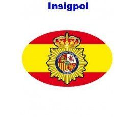 adhesivo-cuerpo-nacional-policia-con-bandera