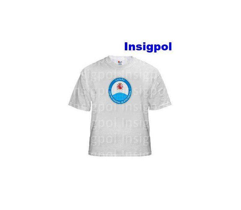 SPANISH-INTELLIGENCE-CNI-A4-WHITE-T-SHIRT