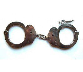 DOUBLE LOCK CHAIN HANDCUFF