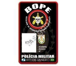 BOPE CUSTOM ID CARD
