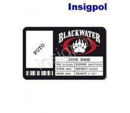CREDENCIAL BLACKWATER