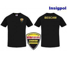 BESCAM BLACK T-SHIRT