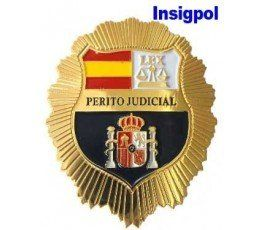 SPANISH COURT EXPERT WITNESS GOLD BADGE