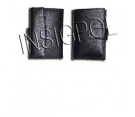 NATIONAL SPANISH POLICE BADGE WOMAN LEATHER WALLET CASE