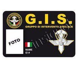 CREDENCIAL GRUPPO DI INTERVENTO SPECIALE (GIS)
