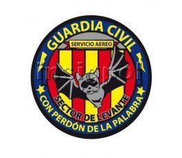 civil-guard-levante-area-air-service-patch