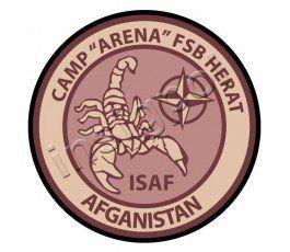 PARCHE CAMP ARENA FSB HERAT AFGANISTAN