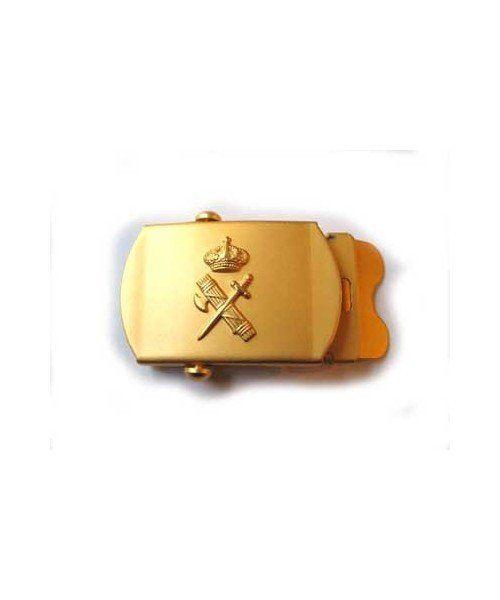 GOLDEN BUCKLE WITH SPANISH CIVIL GUARD 30 CM EMBLEM