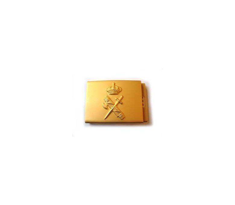 CIVIL GUARD 50 CM EMBLEM GOLDEN BUCKLE