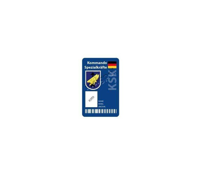 KSK CUSTOM ID CARD