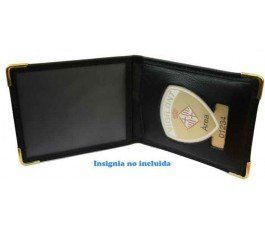 BARCELONA AUXILIARY POLICE BADGE WALLET CASE