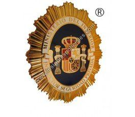 SPANISH PRIVATE SECURITY INSPECTOR BADGE