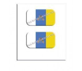 canary-islands-flag-resin-sticker