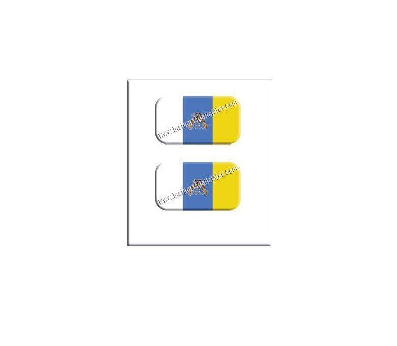canary-islands-flag-resin-sticker