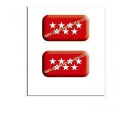 madrid-flag-resin-sticker