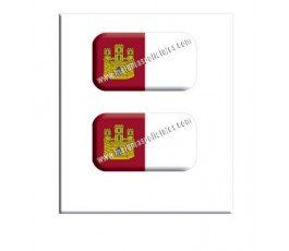 castilla-la-Mancha-flag-resin-sticker