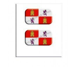 castilla-y-león-flag-resin-sticker