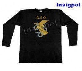 CNP POLICIA GEO SLEEVE T-SHIRT