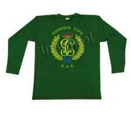 GUARDIA CIVIL GAR EMBLEMA SLEEVE T-SHIRT