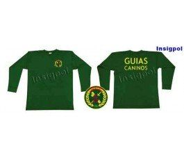 CAMISETA MANGA LARGA GUARDIA CIVIL GUIAS CANINOS
