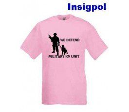 WE DEFEND K-9 UNIT T-SHIRT
