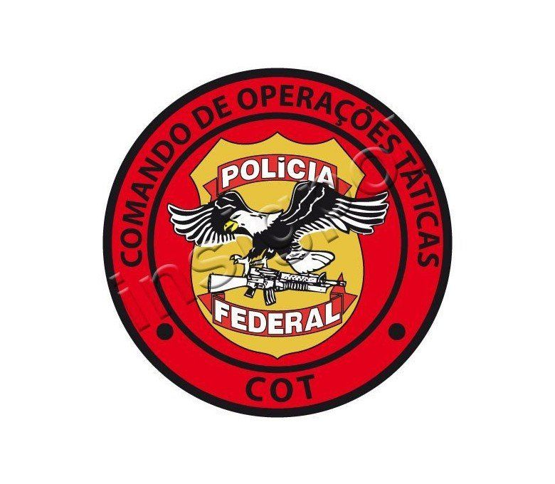 UNIT TATICS OPERATIONS FEDERAL POLICE BRASIL PATCH