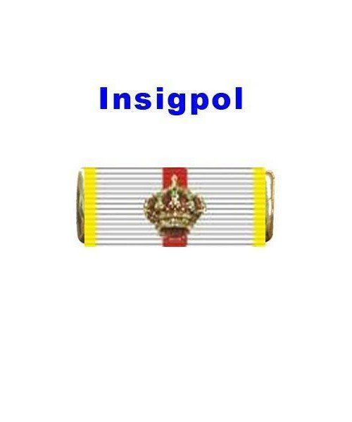 GREAT CROSS OF DISTINCTIVE MILITARY MERIT YELLOW RIBBON