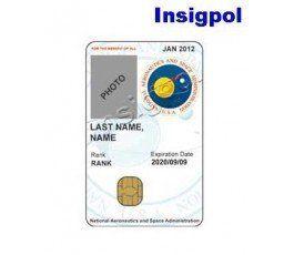 NASA CUSTOM ID CARD