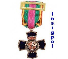 NATIONAL SPANISH POLICE  XX YEARS HONOR MEDAL
