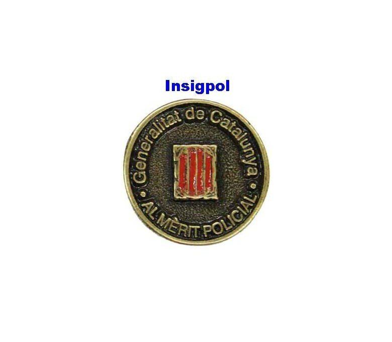 MEDAL HONOR CATALONIA POLICE PIN
